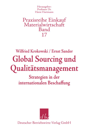 Cover: Global Sourcing und Qualitätsmanagment
