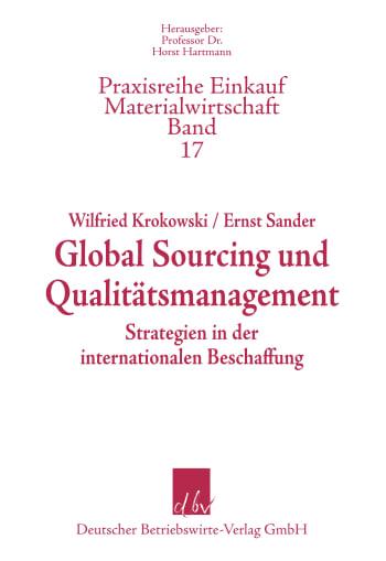 Cover: Global Sourcing und Qualitätsmanagment