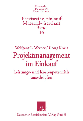 Cover: Projektmanagement im Einkauf