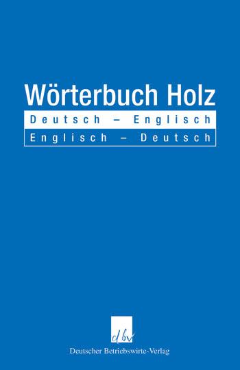 Cover: Wörterbuch Holz
