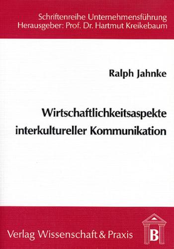 Cover: Wirtschaftlichkeitsaspekte interkultureller Kommunikation