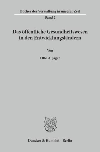Cover: Bücher der Verwaltung in unserer Zeit (BDV)