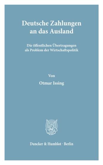 Cover: Wirtschaftspolitische Kolloquien der Adolf-Weber-Stiftung (KAWS)