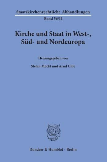 Cover: Kirche und Staat in West-, Süd- und Nordeuropa