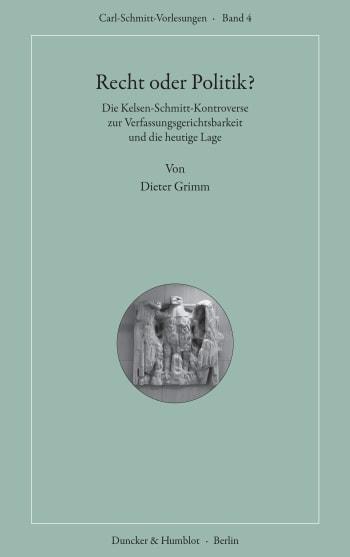 Cover: Recht oder Politik?