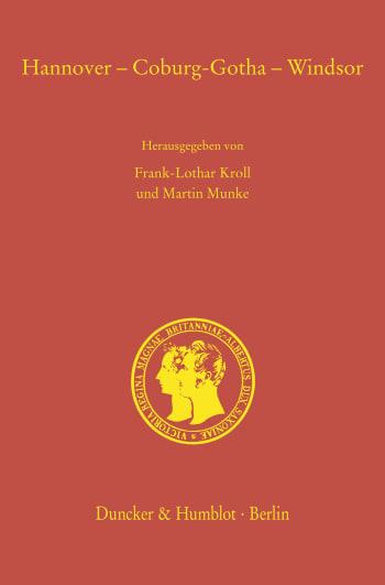 Cover: Hannover – Coburg-Gotha – Windsor