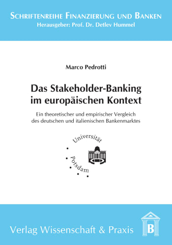 Cover: Das Stakeholder-Banking im europäischen Kontext
