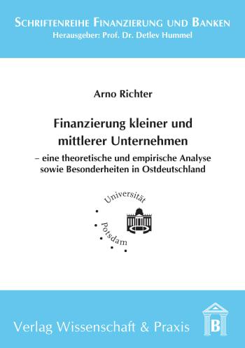 Cover: Finanzierung kleiner und mittlerer Unternehmen