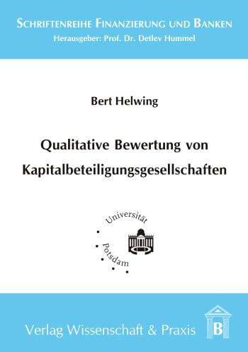 Cover: Qualitative Bewertung von Kapitalbeteiligungsgesellschaften