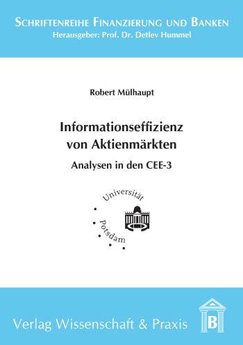 Cover: Einflussfaktoren der Informationseffizienz von Aktienmärkten