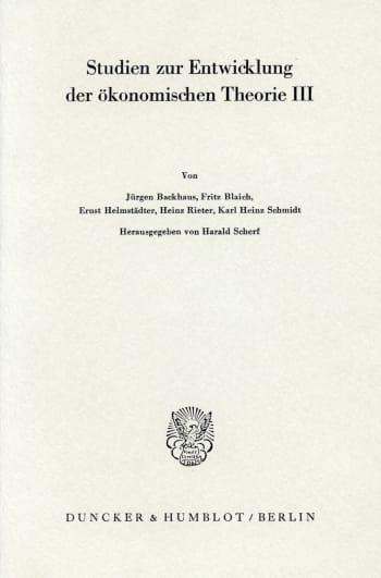 Cover: Bedeutung und Fortwirkung der Physiokraten