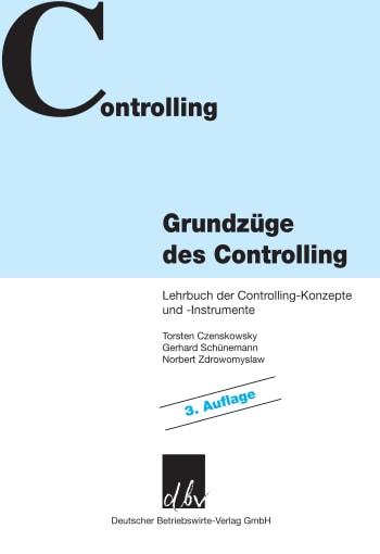 Cover: Grundzüge des Controlling
