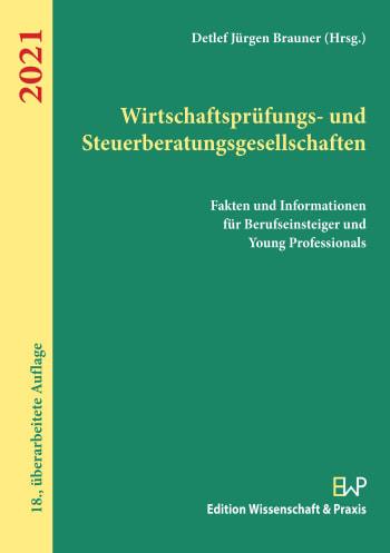 Cover: Wirtschaftsprüfungs- und Steuerberatungsgesellschaften 2021