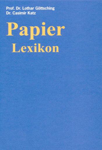 Cover: Papier-Lexikon