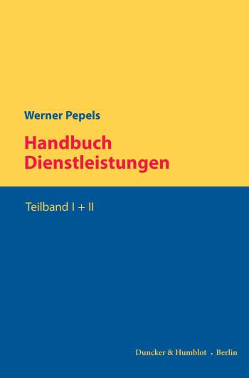 Cover: Handbuch Dienstleistungen