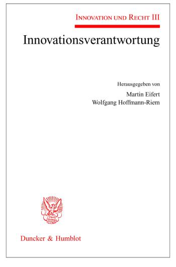 Cover: Innovationsverantwortung