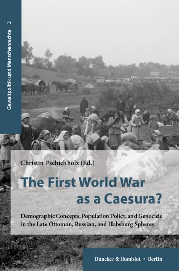 Cover: The First World War as a Caesura?