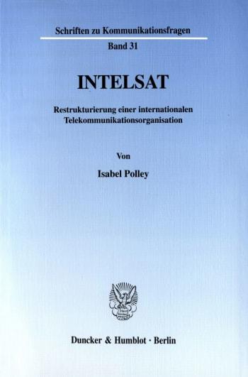 Cover: INTELSAT