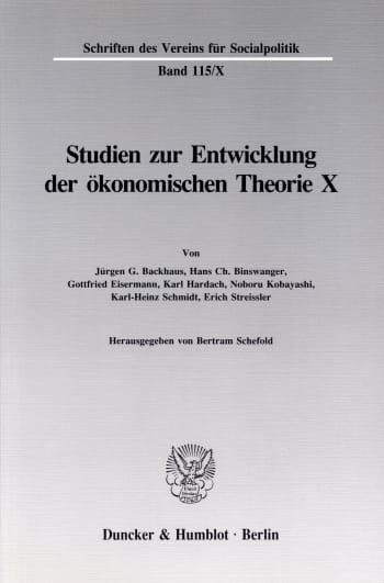 Cover: Friedrich List: Voraussetzungen und Folgen