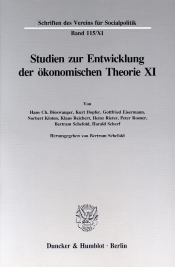 Cover: Die Darstellung der Wirtschaft und der Wirtschaftswissenschaften in der Belletristik