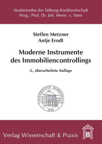 Cover: Moderne Instrumente des Immobiliencontrollings