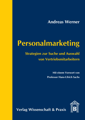 Cover: Personalmarketing
