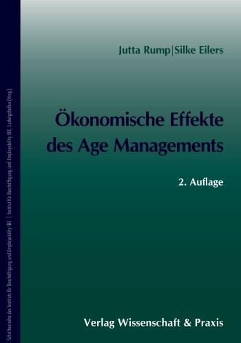 Cover: Ökonomische Effekte des Age Managements