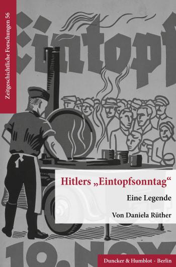 Cover: Hitlers »Eintopfsonntag«