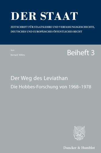 Cover: Der Weg des Leviathan