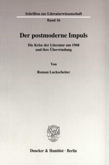 Cover: Der postmoderne Impuls