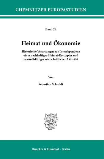 Cover: Chemnitzer Europastudien (CES)