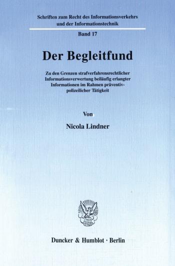 Cover: Der Begleitfund