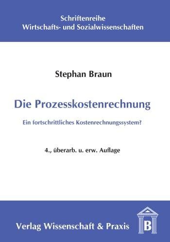 Cover: Die Prozesskostenrechnung