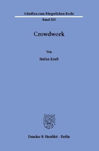 Cover: Crowdwork