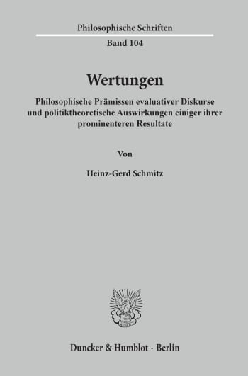 Cover: Wertungen