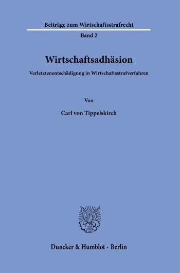 Cover: Wirtschaftsadhäsion