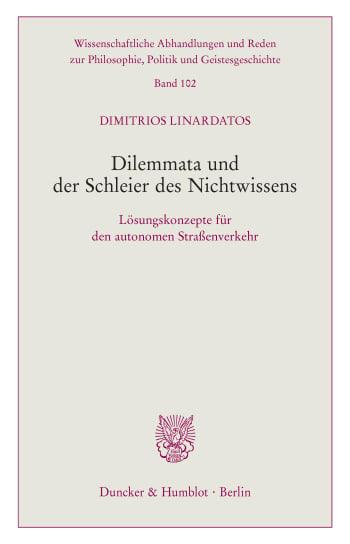 Cover: Dilemmata und der Schleier des Nichtwissens
