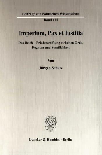 Cover: Imperium, Pax et Iustitia