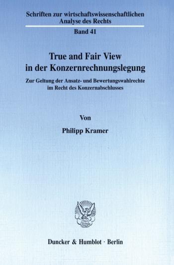 Cover: True and Fair View in der Konzernrechnungslegung