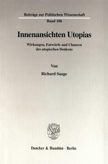 Cover: Innenansichten Utopias
