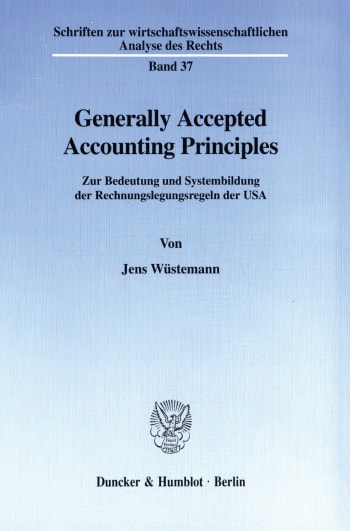 Cover: Generally Accepted Accounting Principles