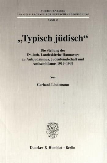 """Cover: """"Typisch jüdisch"""""""
