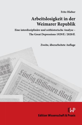 Cover: Arbeitslosigkeit in der Weimarer Republik