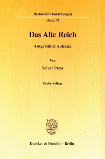 Cover: Das Alte Reich