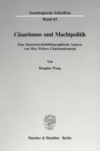 Cover: Cäsarismus und Machtpolitik