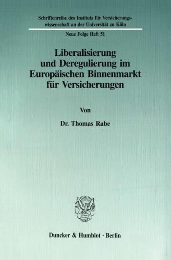 Cover: Schriftenreihe des Instituts für Versicherungswissenschaft an der Universität zu Köln. Neue Folge (SIVW)