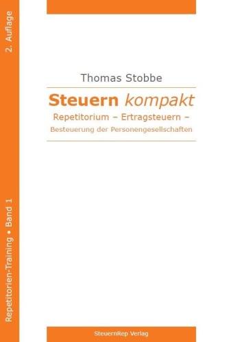 Cover: Steuern kompakt. Repetitorium