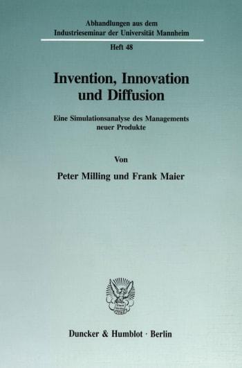 Cover: Invention, Innovation und Diffusion