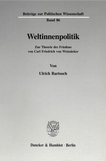 Cover: Weltinnenpolitik