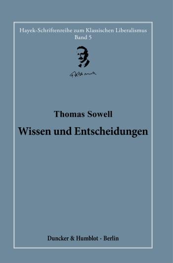 Cover: Wissen und Entscheidungen